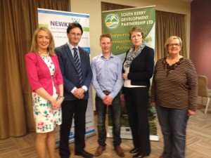 South Kerry winner James Sheehan, Killorglin with SKDP CEO Noel Spillane, Chairperson Sheila Casey and Enterprise Officers Joanne Griffin & Anne O'Riordan
