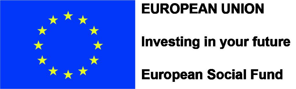 EU logo mentioning ESF